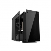 Gabinete Gamer Micro Atx/ Itx Sem Fonte Hero H605 Preto/fan Led Azul Gamemax