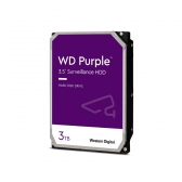 Hd Interno 3Tb Western Digital Purple Sataiii 64Mb Wd30Purz