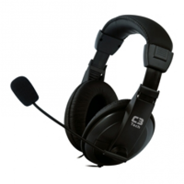 HEADSET CONFORT 662863 PRETO C3TECH
