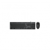 Kit Teclado E Mouse Usb Spt6254 Preto Philips