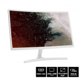 Monitor Acer Curvo 23.6 Led Full Hd Ed242Qr / Hdmi / 75Hz - Branco