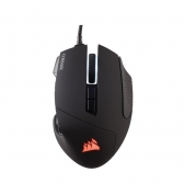 Mouse Óptico Usb Gamer Scimitar Rgb Preto Corsair