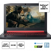 Notebook Acer Gamer Nitro 5 An515-51-78D6 Core I7 7700Hq 16Gb 1Tb 15,6