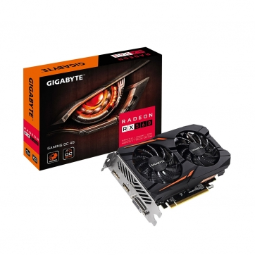 PLACA DE VIDEO GIGABYTE RADEON RX 560 GAMING OC 4GB GDDR5 128 BITS HDMI/DP/DVI - GV-RX560GAMING OC-4GD