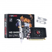 Placa de Video Pcyes Radeon Hd 6450 - 2Gb Ddr3 64 Bits Dvi/hdmi/vga - Pcie 2.0 - Low Profile - Ps64506402D3Lp