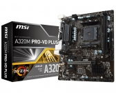 Placa Mãe Msi A320M Pro-Vd Plus - Am4 - Ryzen