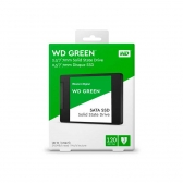Ssd Wd 120Gb Green Sata3 2.5 7Mm Wds120G2G0A