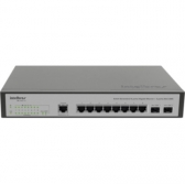 Switch Intelbras 08 Pts Gigabit +2 Mini - Gbic Sg1002Mr