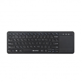 Teclado Sem Fio Touch K-Wt100Bk Compativel Com Smart Tv C3Tech