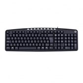 Teclado Usb Multimidia Kb2237Bk Preto C3Tech